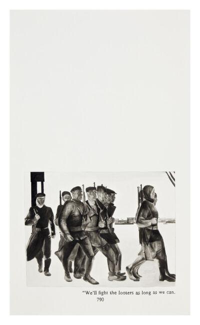 Yevgeniy Fiks, 'Ayn Rand in Illustrations (Atlas Shrugged, page 790)', 2010