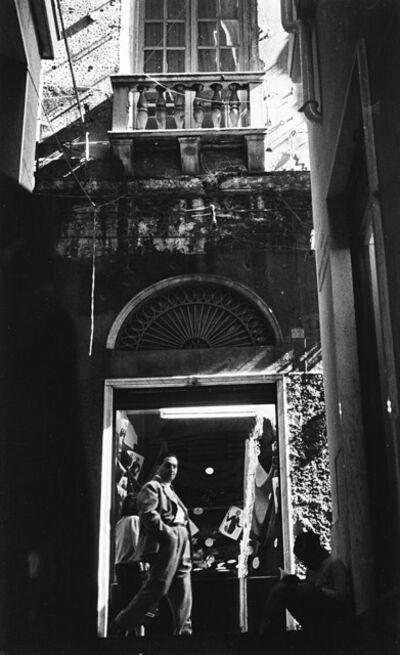 Kurt Blum, 'Vicolo', anni 1950