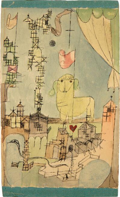 Paul Klee, 'Ostern', 1918