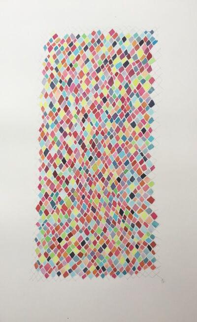 Jessica Eldredge, 'Rainbow net 2'
