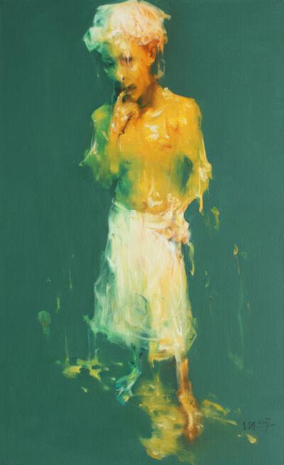 Wu Jianjun, 'Man Wearing a Shower Cap', 2007