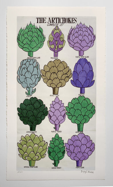 Gregory Blackstock, 'THE ARTICHOKES from THE INCOMPLETE HISTORICAL WORLD, PART II', 2021