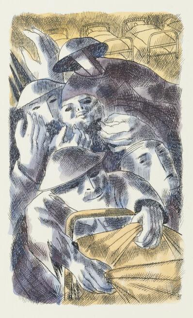 Barnett Freedman, 'Night', ca. 1931