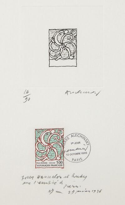 Pierre Alechinsky, 'Untitled', 1986