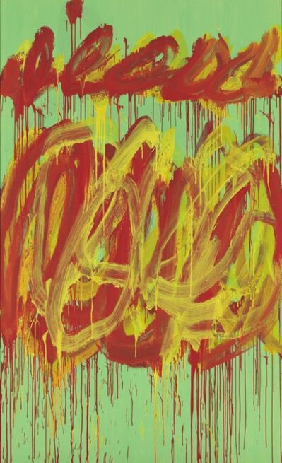 Cy Twombly, ' Untitled (Camino Real)', 2011