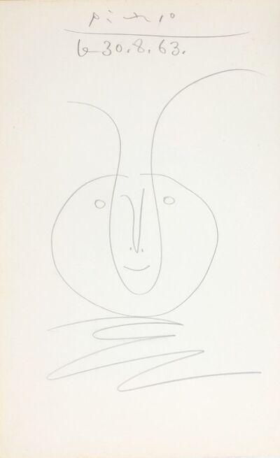 Pablo Picasso, 'Tête de faune', 1963