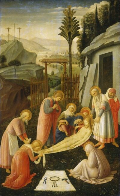 Fra Angelico, 'The Entombment of Christ', ca. 1450