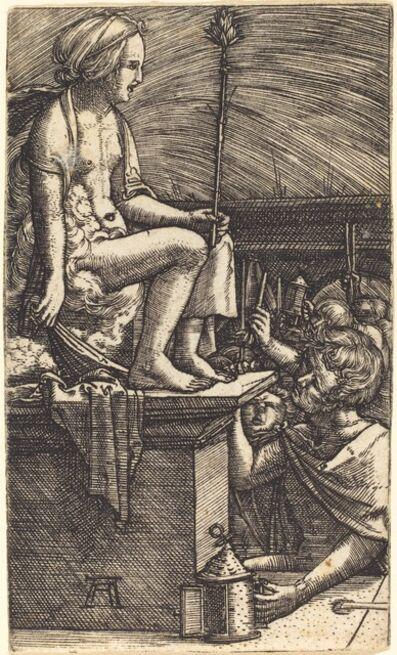 Albrecht Altdorfer, 'The Roman Courtesan (The Revenge of the Magician Virgil)', ca. 1520/1526