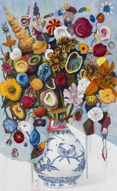 Keith Tyson, ' Still Life with Lovebirds     ', 2017