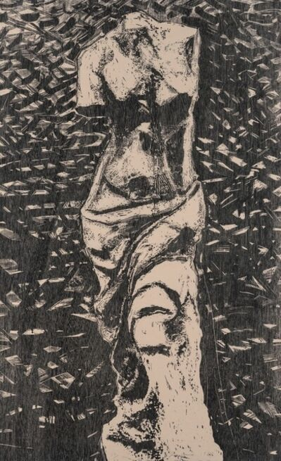 Jim Dine, 'Black Venus In The Wood', 1983