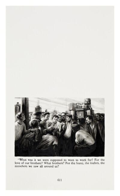 Yevgeniy Fiks, 'Ayn Rand in Illustrations (Atlas Shrugged, page 611)', 2010