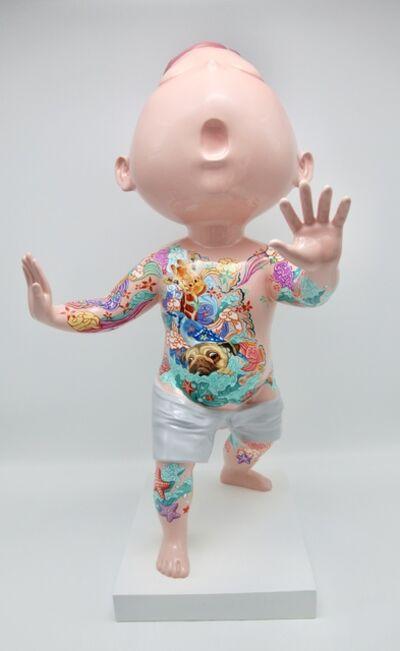 Wu Qiong, 'Boy with tattoo', 2019