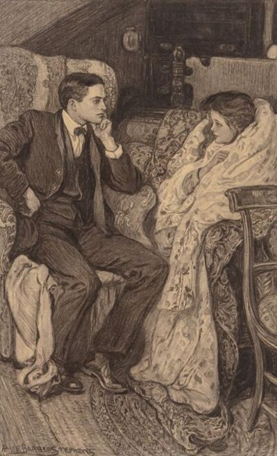 Alice Barber Stephens, 'A Conversation', Early 20th Century