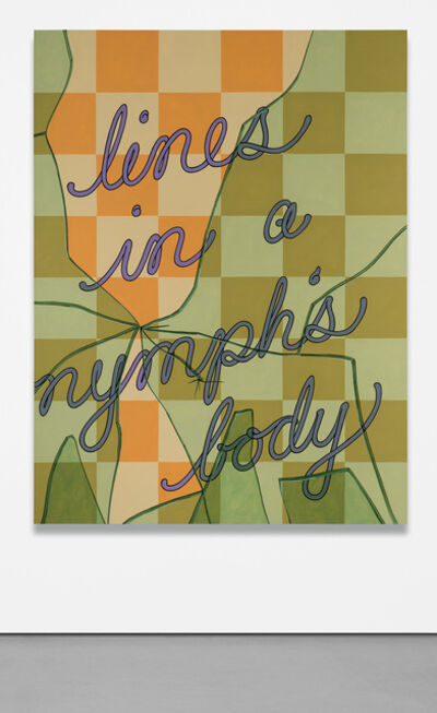 Caitlin Keogh, 'Lines in a Nymph's Body', 2019