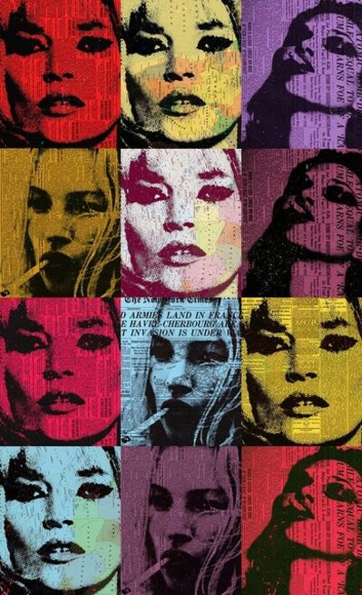 André Monet​, 'Kate Moss', 2020