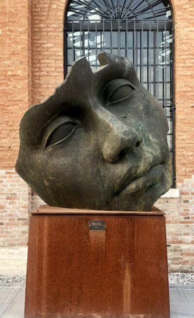 Igor Mitoraj, 'Luci di Nara Pietrificata', 2014