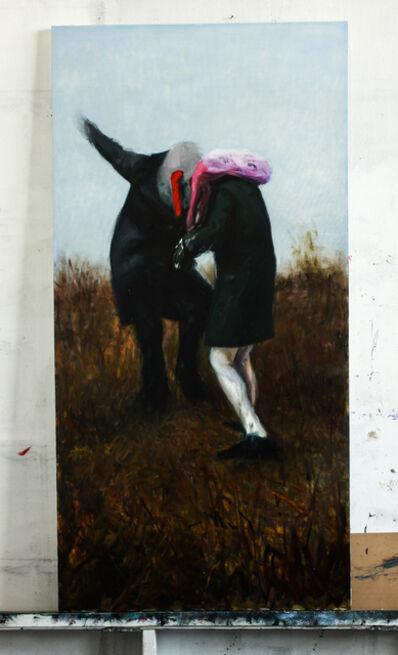 Szabolcs Veres, 'Two Figures', 2016