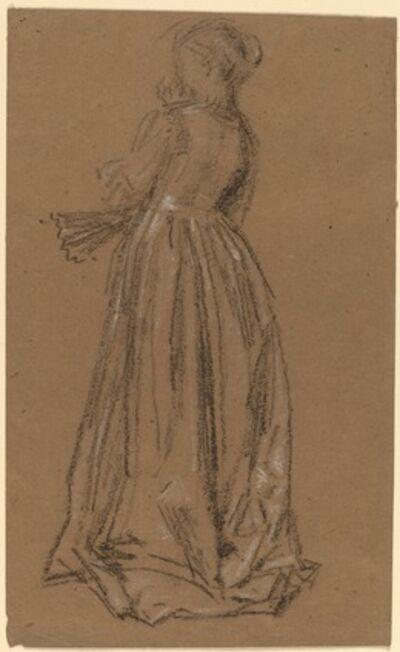 James Abbott McNeill Whistler, 'Woman with a Fan', 1873/1875
