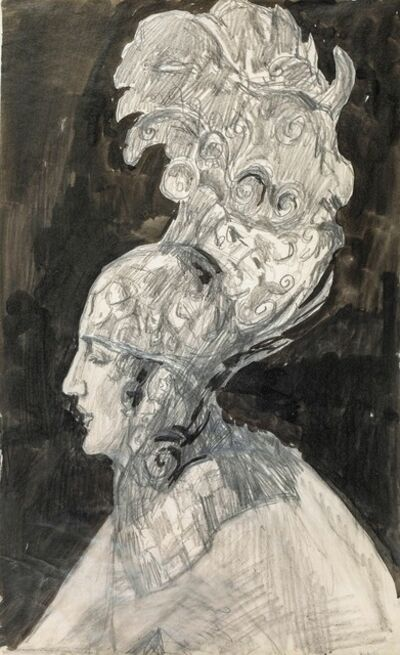 Alfons Walde, 'Chorus Girl', ca. 1915