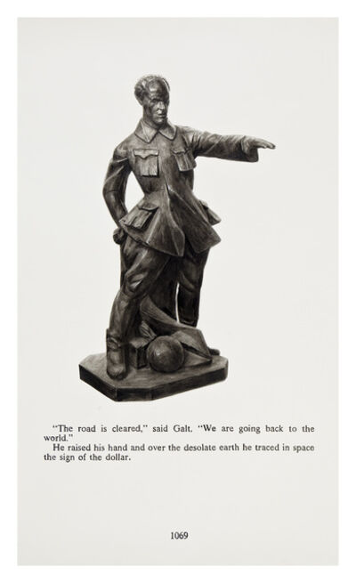 Yevgeniy Fiks, 'Ayn Rand in Illustrations (Atlas Shrugged, page 1069)', 2010