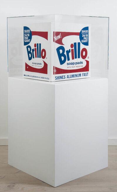 Andy Warhol, 'Brillo Box ('Stockholm' type)', 1968-1990