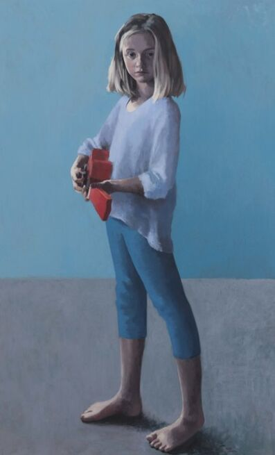 Claerwen James, 'Girl With a Ukulele 2', 2018