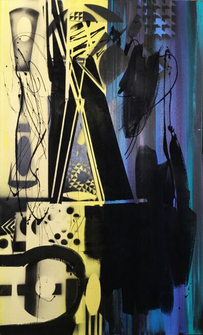 Nola Zirin, 'Black and Blue//Yellow', 2017