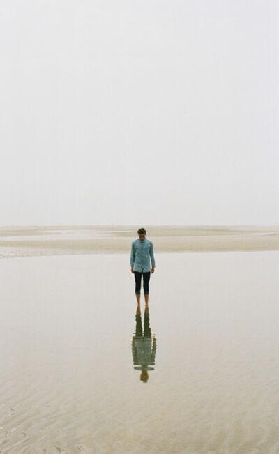 David van Dartel, 'Self-portrait on the beach II / Zelfportret op het strand II', ca. 2019