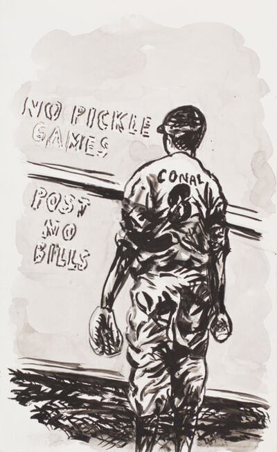Raymond Pettibon, 'No title (No Pickle Games)', 2008