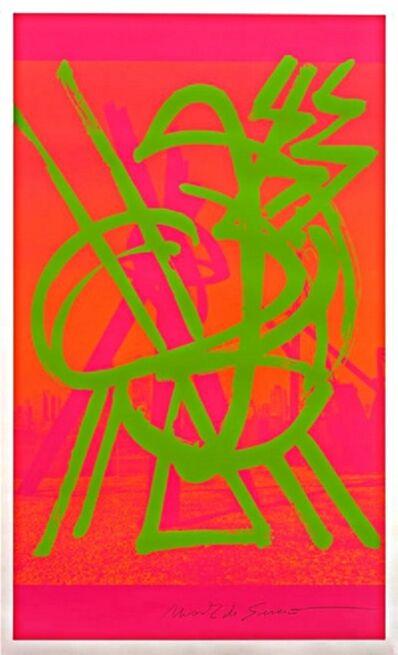 Mark di Suvero, 'Jazz at Lincoln Center', 2000