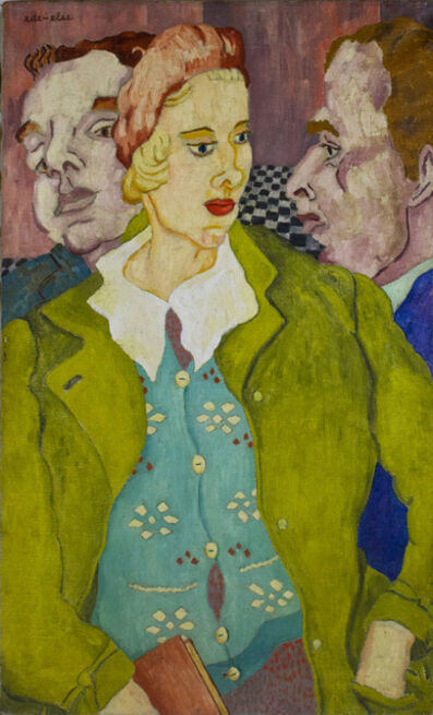 ede-else, 'Lady with Two Men', ca. 1950