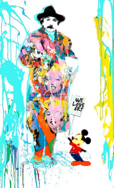 Dganit Blechner, 'We Love Art[Einstein]', GFA262