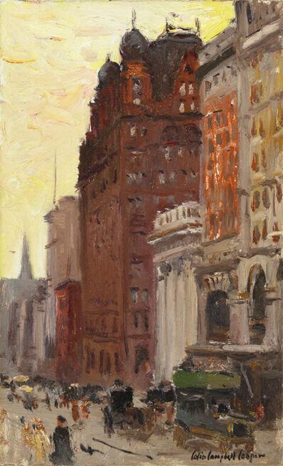 Colin Campbell Cooper, 'Waldorf Astoria Hotel', 1908