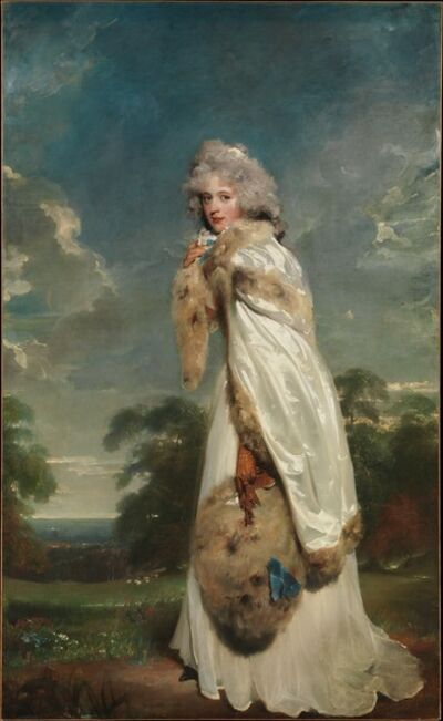 Thomas Lawrence, 'Elizabeth Farren (born about 1759, died 1829), Later Countess of Derby', 1790