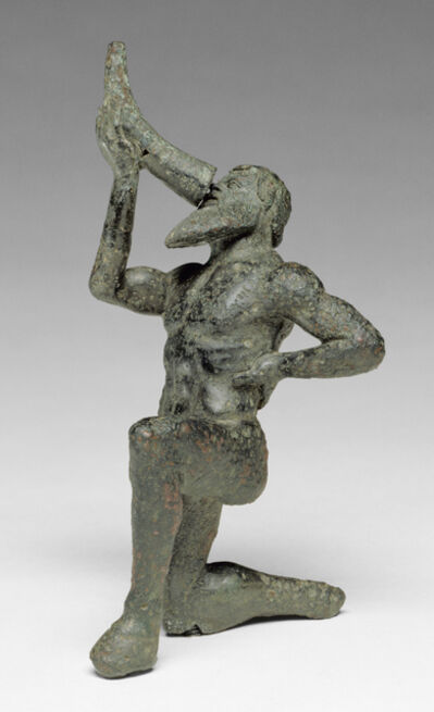 'Statuette of a Satyr', 480 -460 BCE