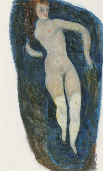 Alfons Walde, 'Sleeping Woman', ca. 1919