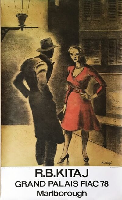 R. B. Kitaj, 'Femme de Peuple II', 1978