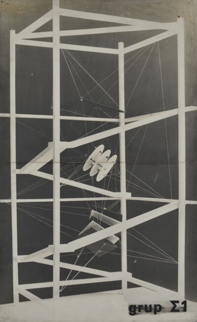 Constantin Flondor, 'Project for Students House', 1969-1971