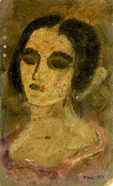 Alexander Rodchenko, 'Portrait Sketch of a Woman, possibly Varvara Stepanova', 1939
