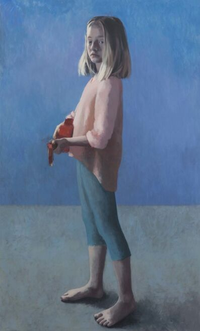 Claerwen James, 'Girl with a Ukulele 3', 2018