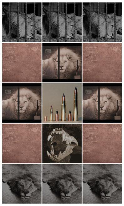 Anett Stuth, 'Insta-Lions-Fragments', 2021