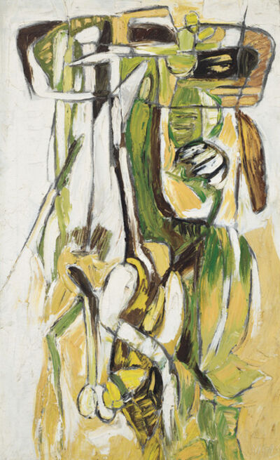 Oswaldo Vigas, 'Guajira verdorosa', 1967