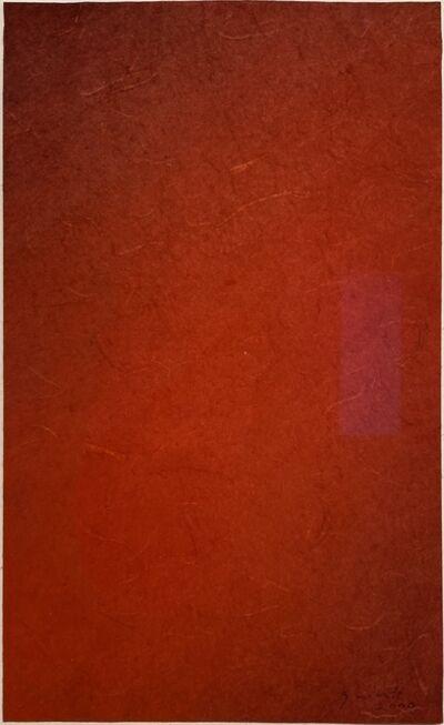 Lothar Quinte, 'Rot', 2000