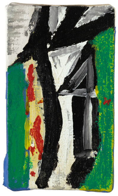 Robert Motherwell, 'Untitled (with Green, Yellow and Red)', 1976-1986