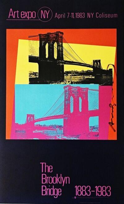 Andy Warhol, 'The Brooklyn Bridge Centennial (Hand Signed by Andy Warhol)', 1983