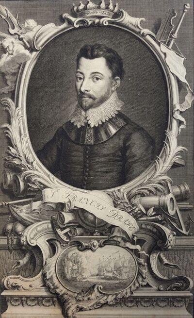 Jacobus Houbraken, 'Sir Francis Drake', 1742