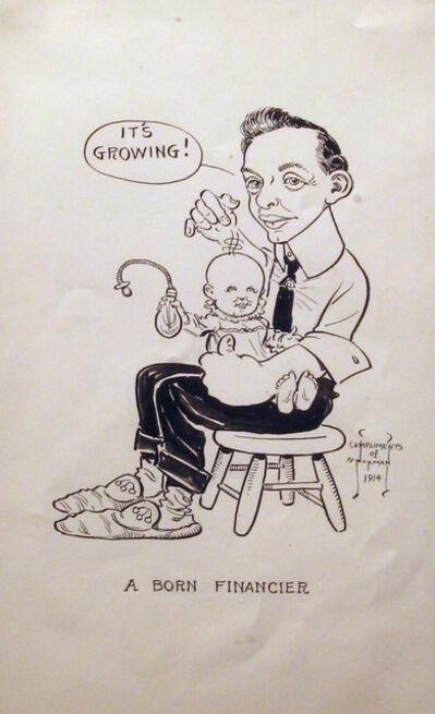 Norman Rockwell, 'A Born Financier', 1914