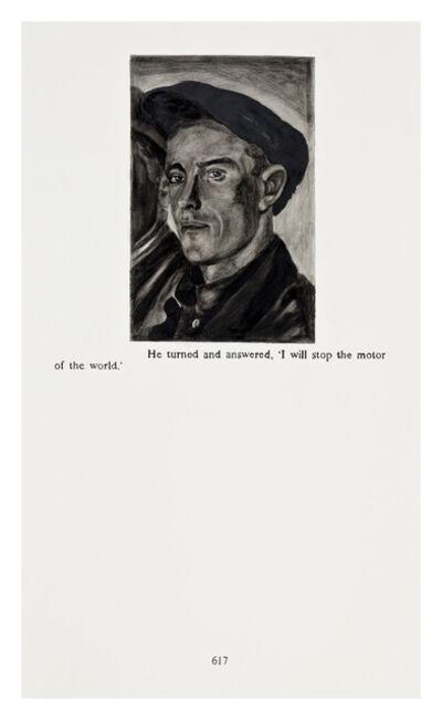 Yevgeniy Fiks, 'Ayn Rand in Illustrations (Atlas Shrugged, page 617)', 2010