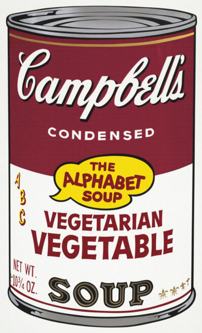 Andy Warhol, 'Vegetarian Vegetable, from Campbell's Soup II', 1969
