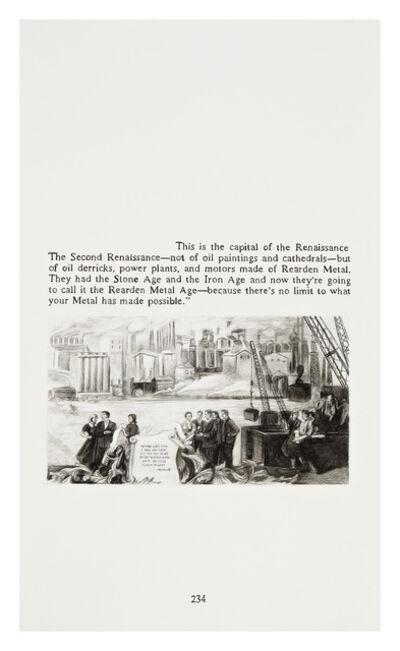 Yevgeniy Fiks, 'Ayn Rand in Illustrations (Atlas Shrugged, page 234)', 2010
